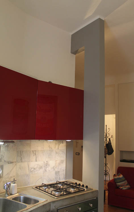 I mobili realizzati su misura della cucina