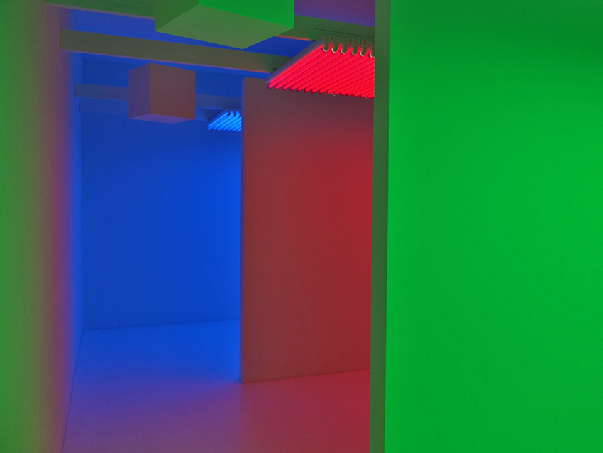 Chromosaturation, Carlos Cruz Diez