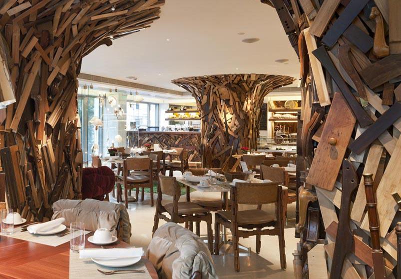 Le sale del ristorante foto andrés otero/LUZphoto