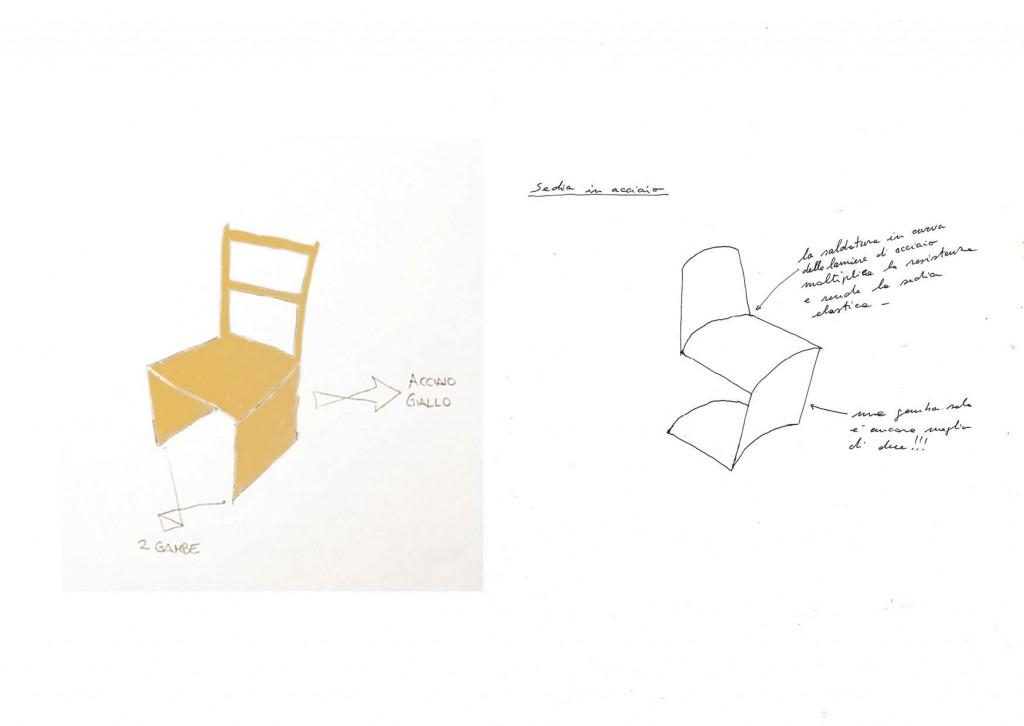 Disegno di Giorgia, progetto di Paolo Ulian