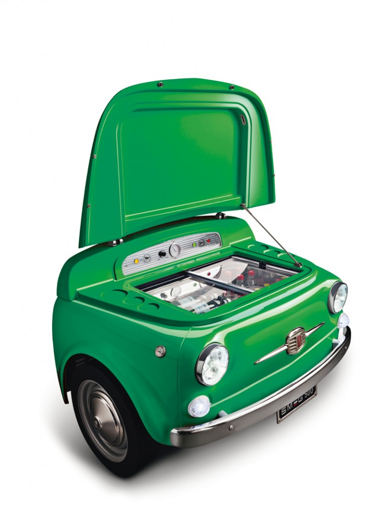 SMEG500 verde aperta