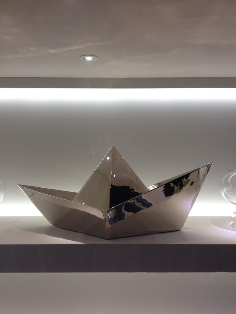 Paper Boat di Aldo Cibic