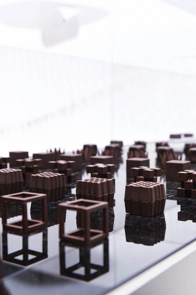 Chocolatexture by Nendo for Maison&Objet